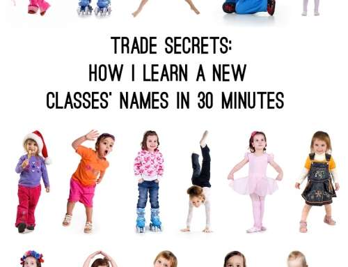 Trade Secrets: How I learn a new classes' names in 30 minutes